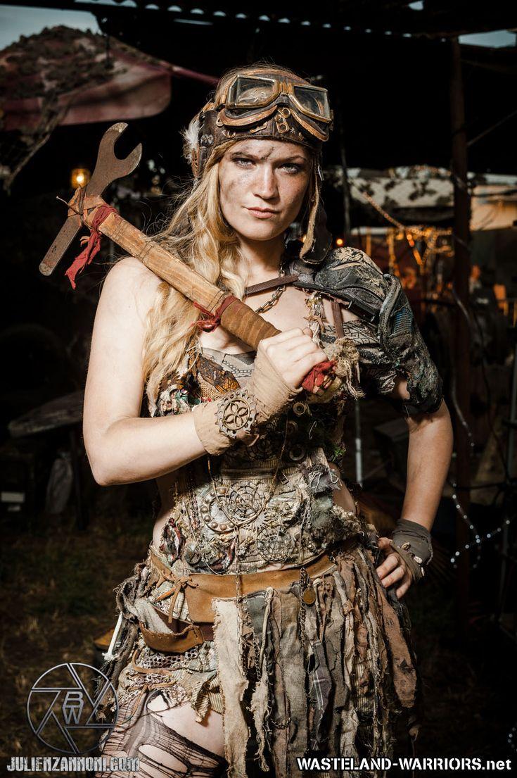 Wastelander Portraits: Lizzie by Wasteland-Warriors.deviantart.com on @deviantART