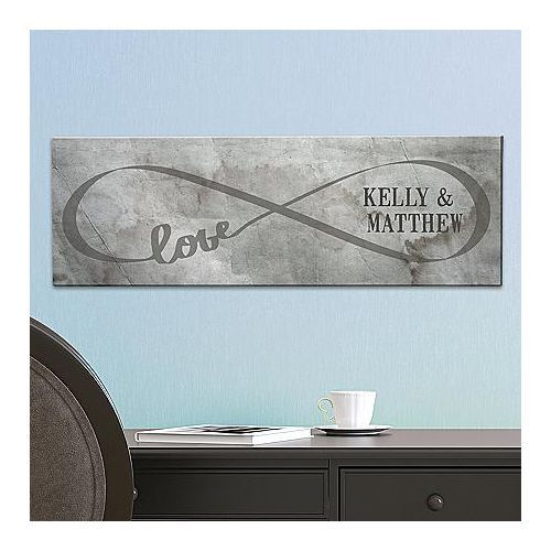 Infinity Canvas | 17th Wedding Anniversary Gifts For Couples, Husband, Wife, Him, Her
