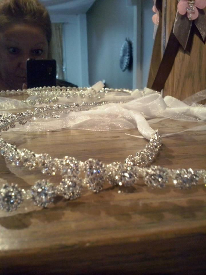 Greek wedding crowns Stefana