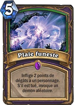 carte wanted chien | Deck] Démoniste Zoo, Deck pro - Hearthstone : Heroes of Warcraft ...
