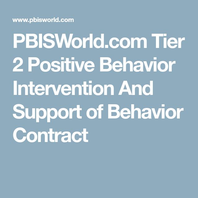 The  Best Behavior Contract Ideas On   Behaviour