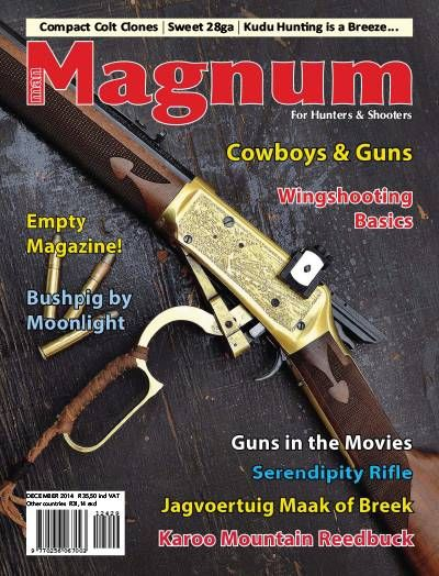 Man Magnum Magazine. Hunting. Shooting. Guns.