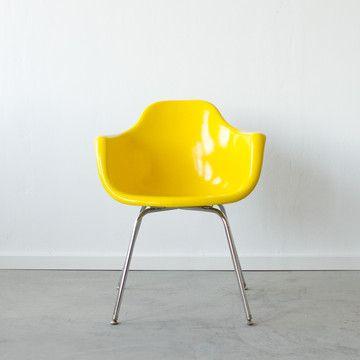 Molded Fiberglass Chair Sunshine by Cast & Crew @Pascale De Groof