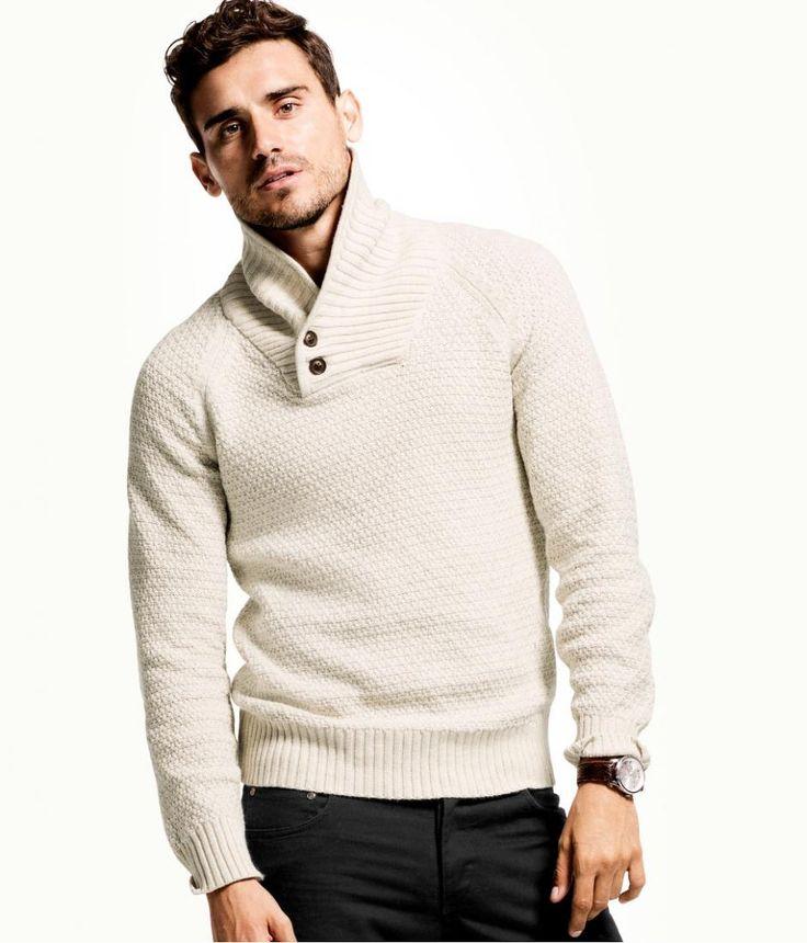 LOVE this sweater!!! H & M Men's Winter  Lookbook 2012-2013