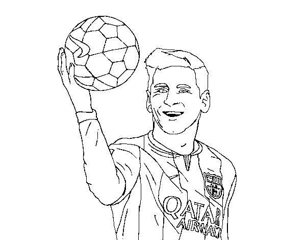 Dibujos Para Colorear De Messi Sketches Coloring Pages Male Sketch