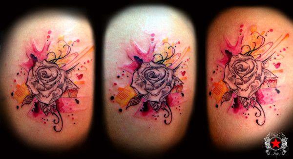 Rose Tattoo by_robert greg voulgari
