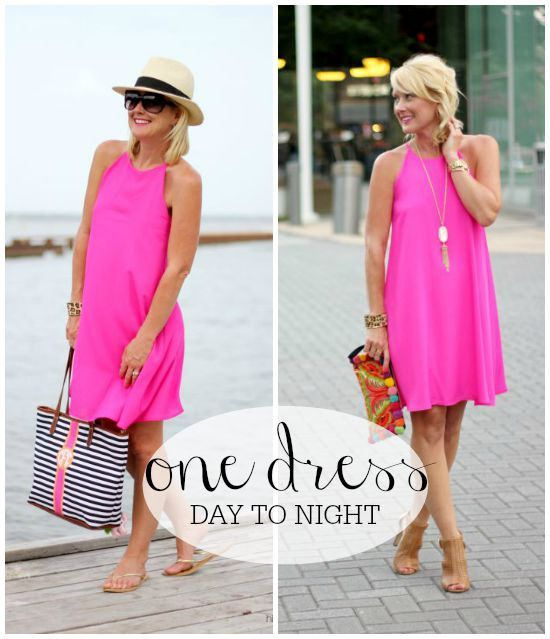 Hi Sugarplum   Pink Dress: Day to Night