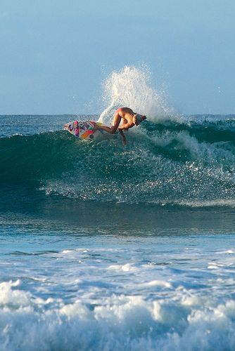 Bethany Hamilton RIPPING. Such an inspiration!!