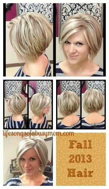 how to grow out short inverted bob