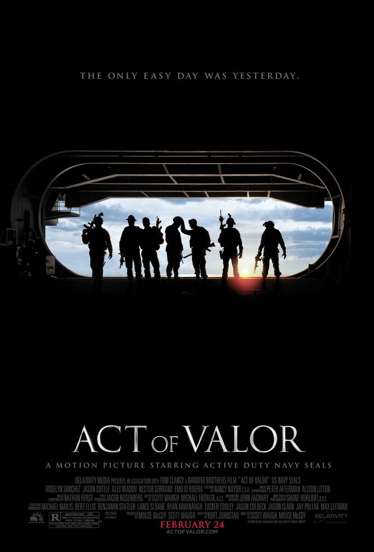 Act of Valor - Christian Movie/Film on DVD/Blu-ray. http://www.christianfilmdatabase.com/review/act-of-valor/