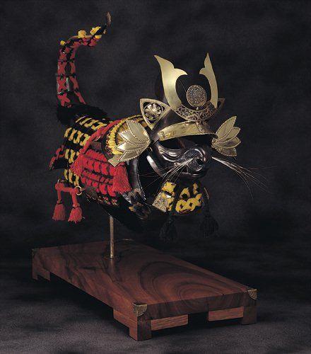 Jeff de Boer's Samurai Cat Armor. - Neatorama