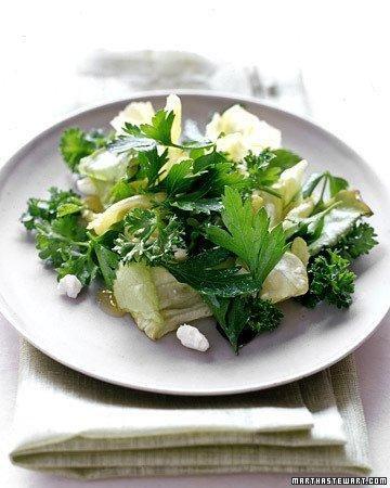 Herb Salad with Feta Holiday Salad Recipe