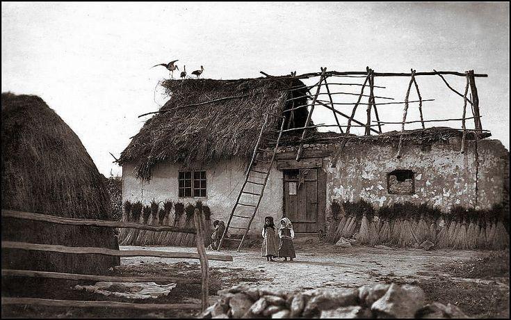 Rural hut, eastern Poland 1920