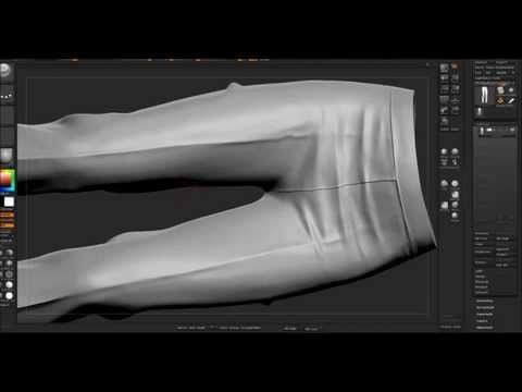 Marvelous Designer + Zbrush = pants modeling - YouTube