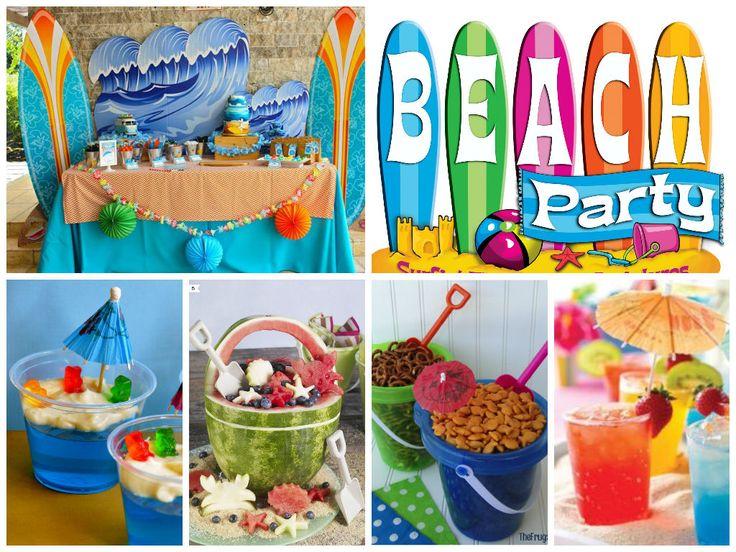 ideas para una fiesta playera ideasfiesta ideas decoracion
