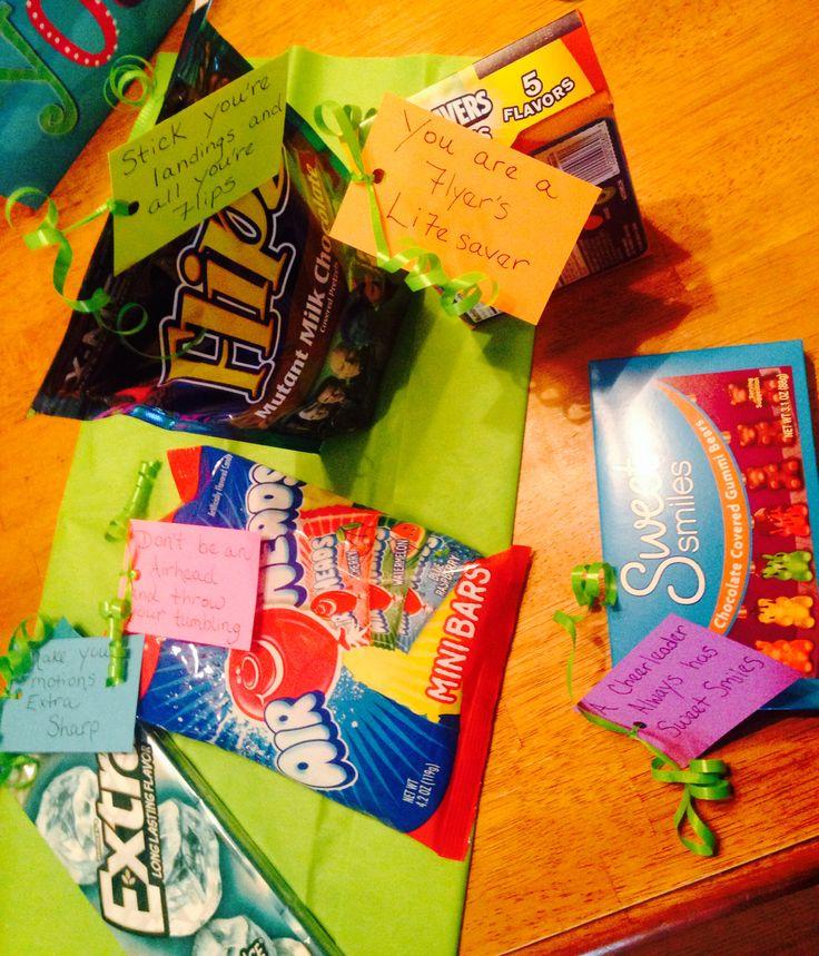 diy cheerleading gift gift idea coaching ideas pinterest