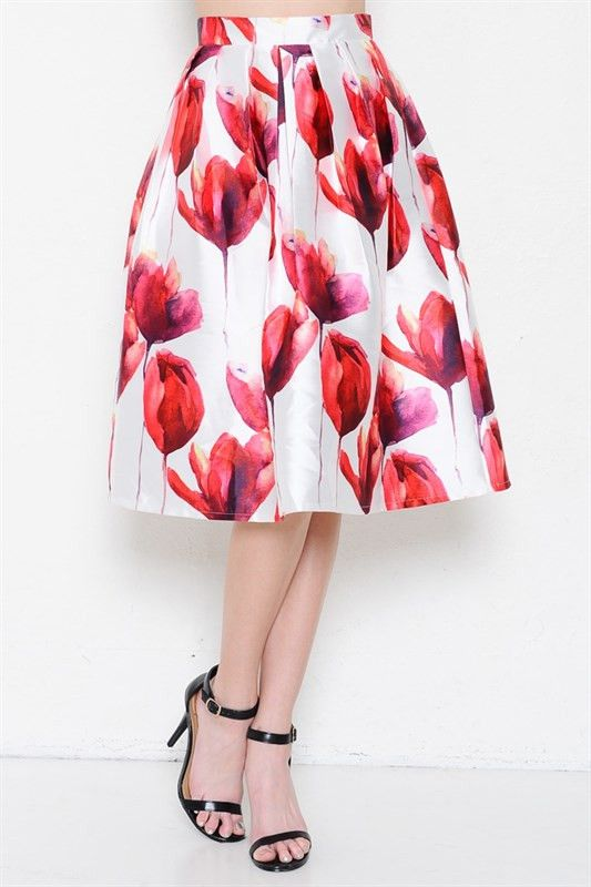 Red Lilianna Ballroom Skirt | Fashion outfits, Classy ...