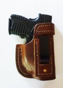 """""""Most Comfortable IWB Holster I have ever worn. Period.""""  IWB / XDS with CT469 - Jackson LeatherWork, LLC"""