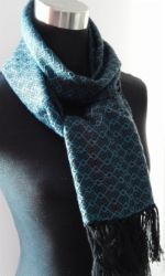 Hand woven Scarf.