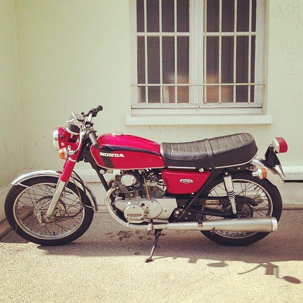 My first Motorcycle. Honda CB125 - Classic Honda