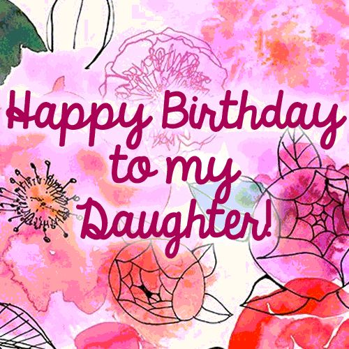 images of birthday wishes for daughter - photo #35