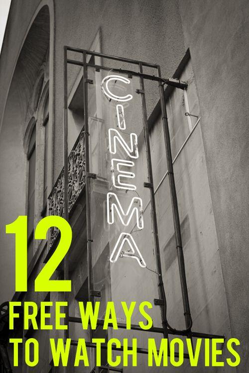 12 Free Ways to Watch Movies Without Breaking the Law | And Then We Saved