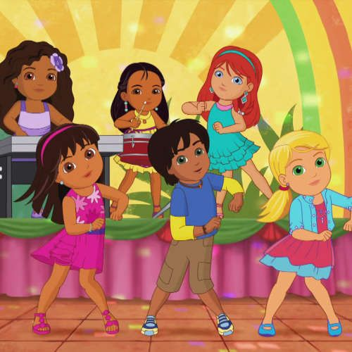 17+ images about Dora and Friends into the city birthday party on ...