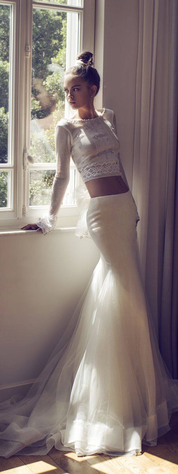 Zahavit Tshuba 2016 Bridal Collection : Mix and Match #vestidodenovia | #trajesdenovio | vestidos de novia para gorditas | vestidos de novia cortos http://amzn.to/29aGZWo