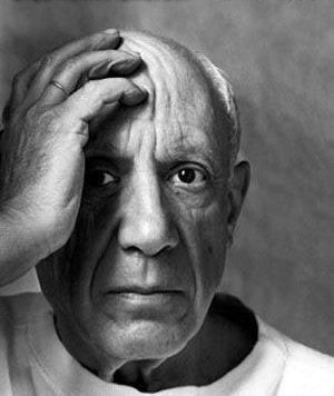 PicassoFace, Artists, Arnold Newman, Inspiration, Portraits, People, Photography, Pablopicasso, Pablo Picasso