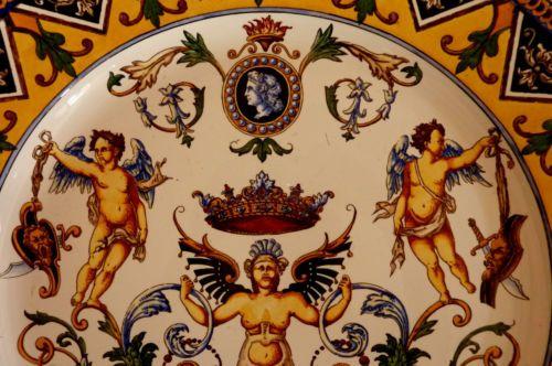 Gien-grand-plat-decor-Renaissance-XIXeme-diametre-55-7-cm-ref-02