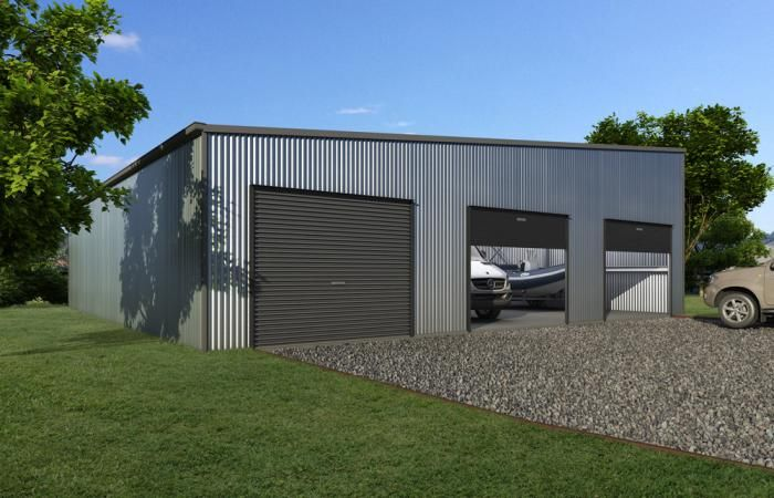 Custom Skillion Garages 5