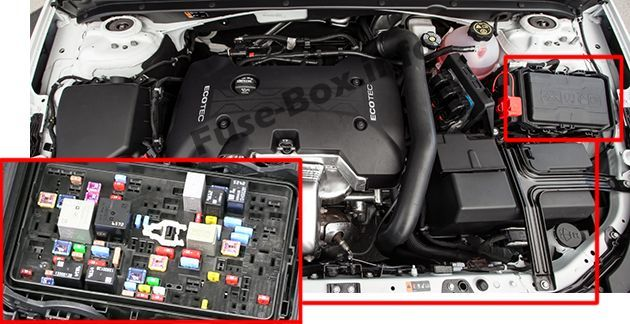 Chevrolet Malibu 2016 2019 Fuse Box Location With Images