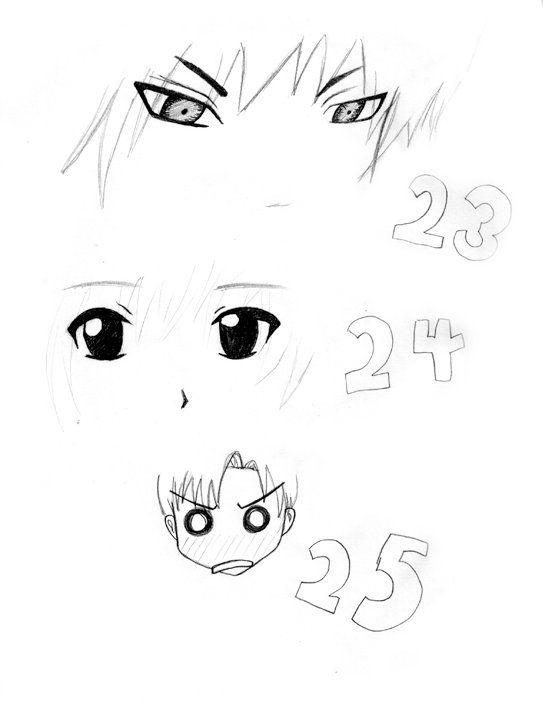 The eyes were essential in the creating of a mad looking phone, so I looked up various types of mad eyes to make my drawing more successful.