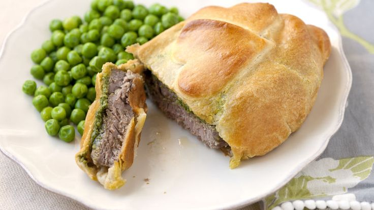 Perfectly cooked beef and a crisp crescent crust makes this the perfect way to quickly serve a favorite.
