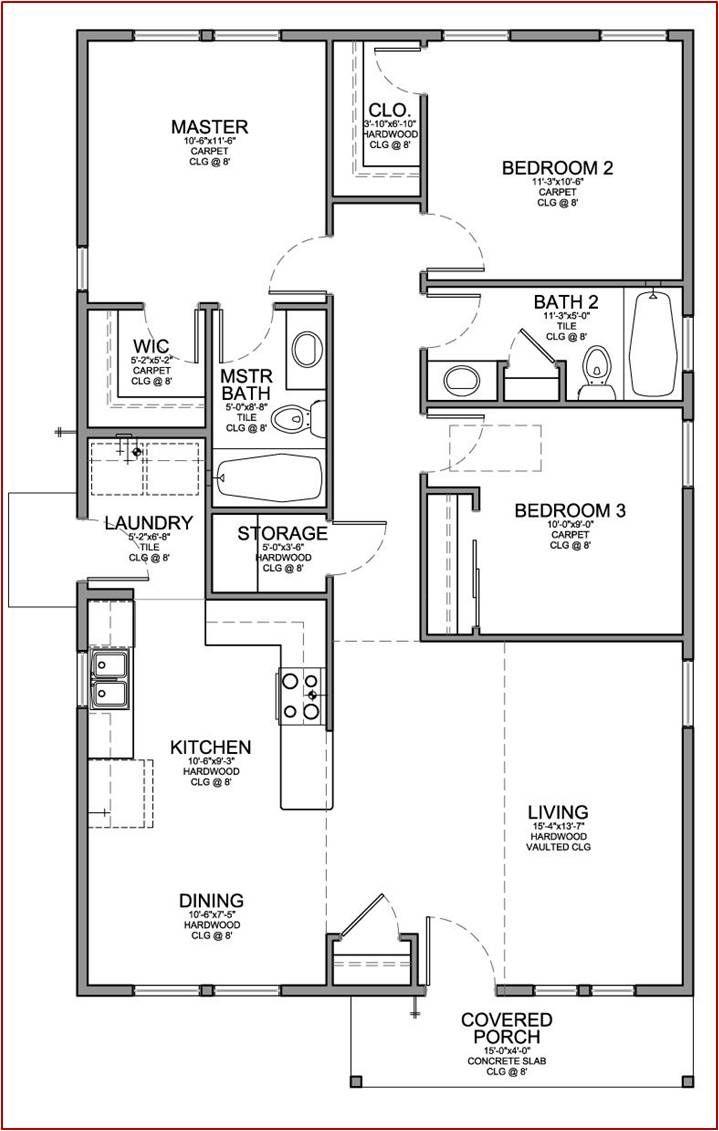 Small House Floor Plans 2019
