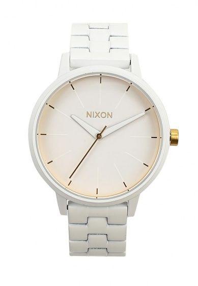 Элегантные женские часы от Nixon. Модель выполнена из нержавеющей стали. Детали: кварцевый механи...