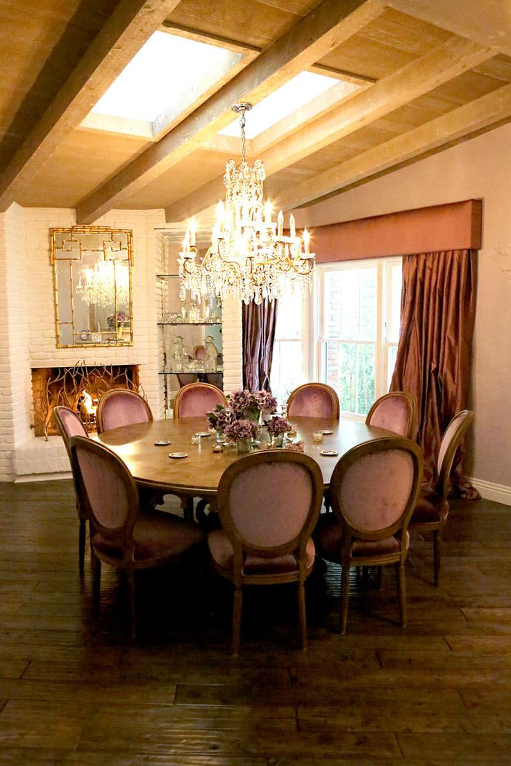 440 best dining rooms images on pinterest dining tables kitchen the stunning dining room of real housewife kyle richards rhobh