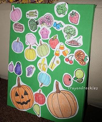 the hungry pumpkin felt board script #crayonfreckles