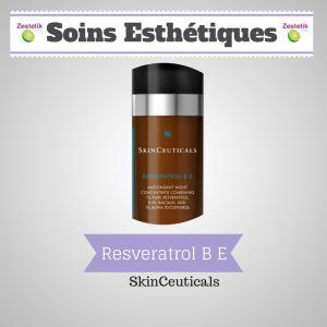 SkinCeuticals, entreprise à la pointe de la technologie en matière d'antioxydants lance Resveratrol BE, un soin antioxydnat nouvelle génération, http://zestetik.fr/magazine/resveratrol-b-e-antioxydant-de-nuit/