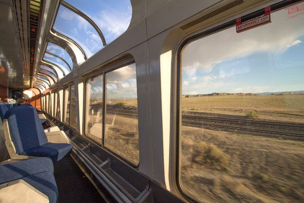 On top of it all, traveling by train means that your adventure starts way before you reach your destination. | This Guy Saw The U.S. For Under $500 And You'll Want To Copy His Trip