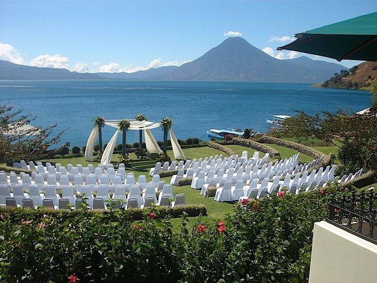 Panajachel Hotel Wedding Venues   Hotel Atitlán   Solola, Guatemala