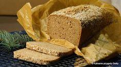 Kulinarne przygody Gatity: Razowy chleb na zakwasie z ziarnami pszenicy