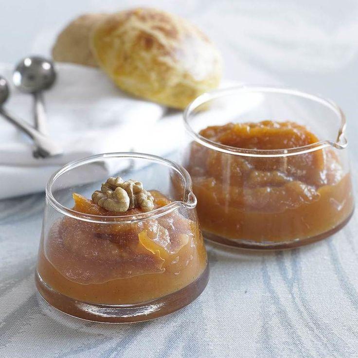 Receita Compota de abóbora com nozes por Equipa Bimby - Categoria da receita Sobremesas