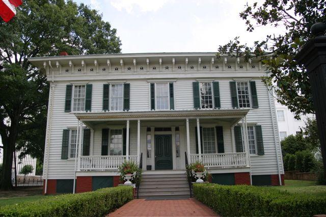 jefferson davis white house of the confederacy