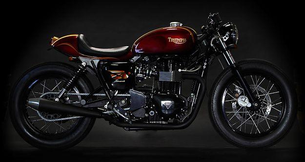 t: Deus Triumph, Triumph Bonneville, Custom Motorcycles, Cars Riding, Custom Bike, Bonnevil Custom, Deus Ex, Vintage Bike, Cafe Racers