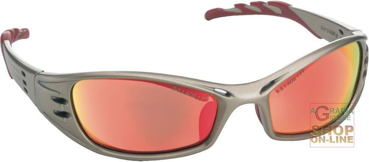 OCCHIALE A STANGHETTA MONTATURA IN TITANIO  LENTI A SPECCHIO COLORE ROSSO https://www.chiaradecaria.it/it/occhiali-di-protezione/13326-occhiale-a-stanghetta-montatura-in-titanio-lenti-a-specchio-colore-rosso.html