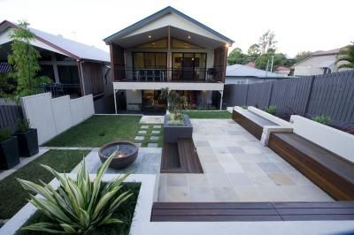 260 best images about contemporary gardens on pinterest for Landscape design brisbane