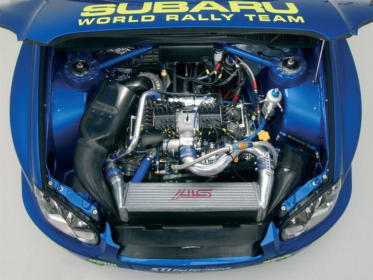 Automotive Dominance • Subaru WRC