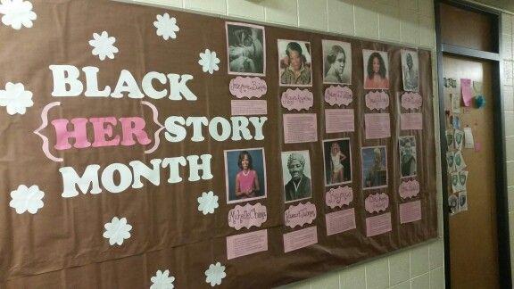 Black History / HERstory month bulletin board board #bulletinboard  #ra #reslife