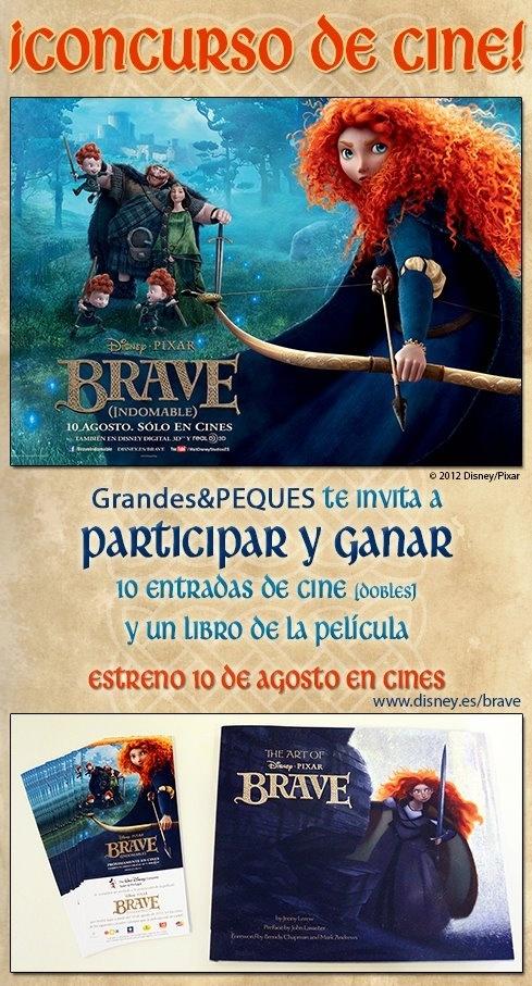 Nuevo Concurso de Brave!!! ¡Regalamos 10 entradas dobles!!      Participa ya en:  http://grandesypeques.com/index.php/grandes/consursos-grandes/235-concurso-brave  #Grandesypeques #Brave